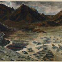 Painting of Gallabat/Metemba (1940)