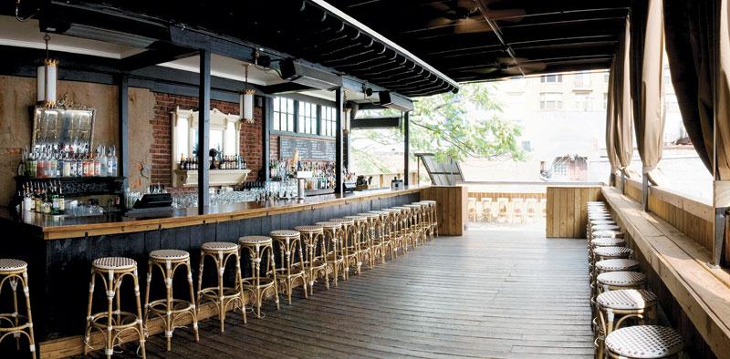 Main Bar at Marvin Rooftop